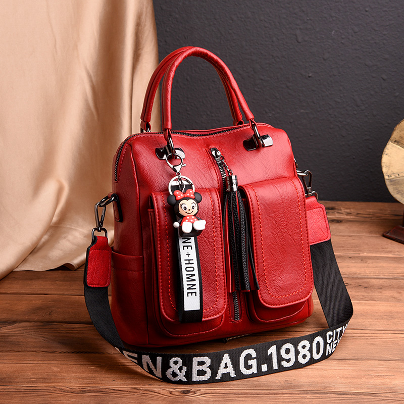 Fashion Women Backpack High Quality Leather Backpacks For Teenage Girls Female School Shoulder Bag Bagpack Mochila Feminina Muje