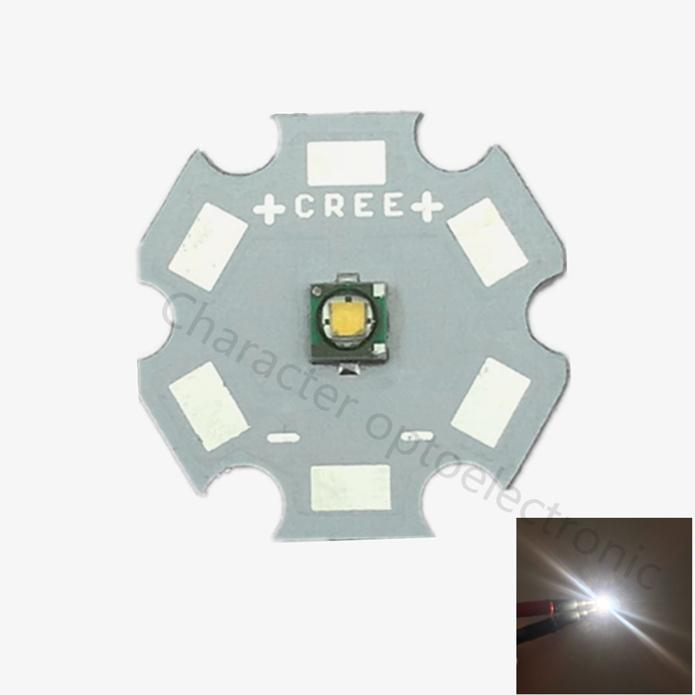 10PCS CREE XPE R3 LED Chip 3W High Power light XP-E LED Lamp Warm white 3000-3500K LED Emitter with 20/16/14/12/10/8MM PCB