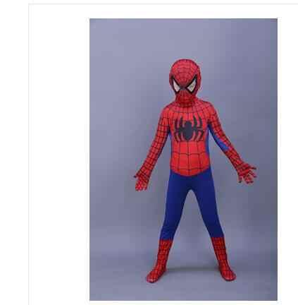 赤黒スパイダーマン衣装スパイダーマンのスーツのスパイダーマン衣装大人子供子供スパイダーマンのコスプレ服