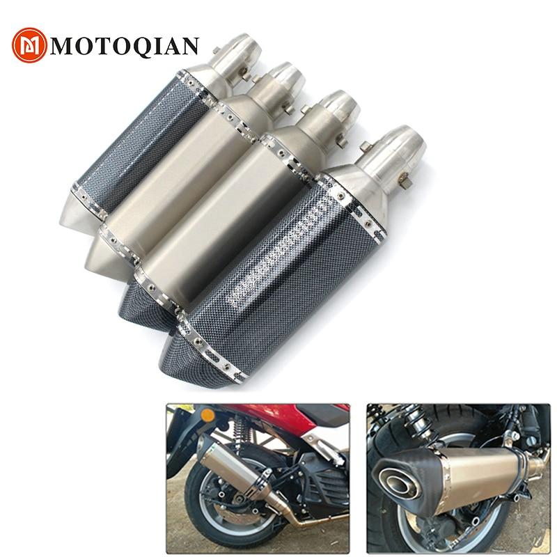 moto db Killer muffler Motorcycle Escape Exhaust For Kawasaki ninja 300 1000 Z800 Z900 Z750 Z 800 900 pipe accessories motorbike