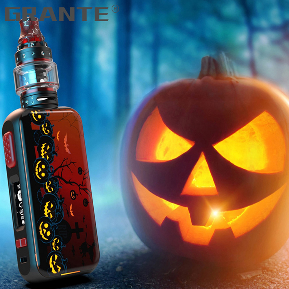 Grante Vape Box Mod Kit 3.5ml Top Filling Atomizer With 0.5 ohm Coil Without 18650 Battery Vape Mod Vaporizer VS SMOK X-Priv Kit44
