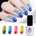 1 Bottle 5ml BORN PRETTY Shimmer Glitter Thermal Color Changing Soak Off UV Gel Polish Manicure Nail Gel Varnish
