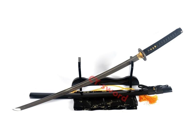 Əl Döyməsi 1060 Polad Tam Tang Bıçaq Yapon Katana Samurai - Ev dekoru - Fotoqrafiya 2