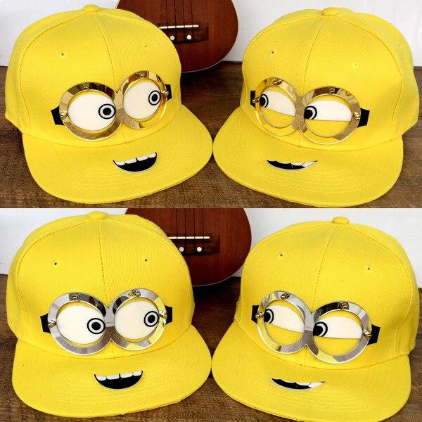 Prix pour Bande dessinée spongebob Patrick hippop Snapback chapeaux hip hop cap pour hommes et femmes d'été casquettes Minions