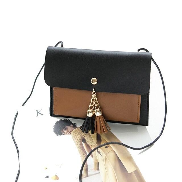 Vison   Johnson Kecil Wanita Tas Messenger PU Casing Tas Genggam Tas  Desainer Mini Tas Bahu 6317848db5