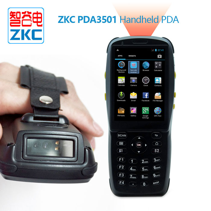 Handheld Robuste Barcode-scanner Pda Android Wifi/3g/nfc/rfid Pda3501 Neue!!! Letzter Stil
