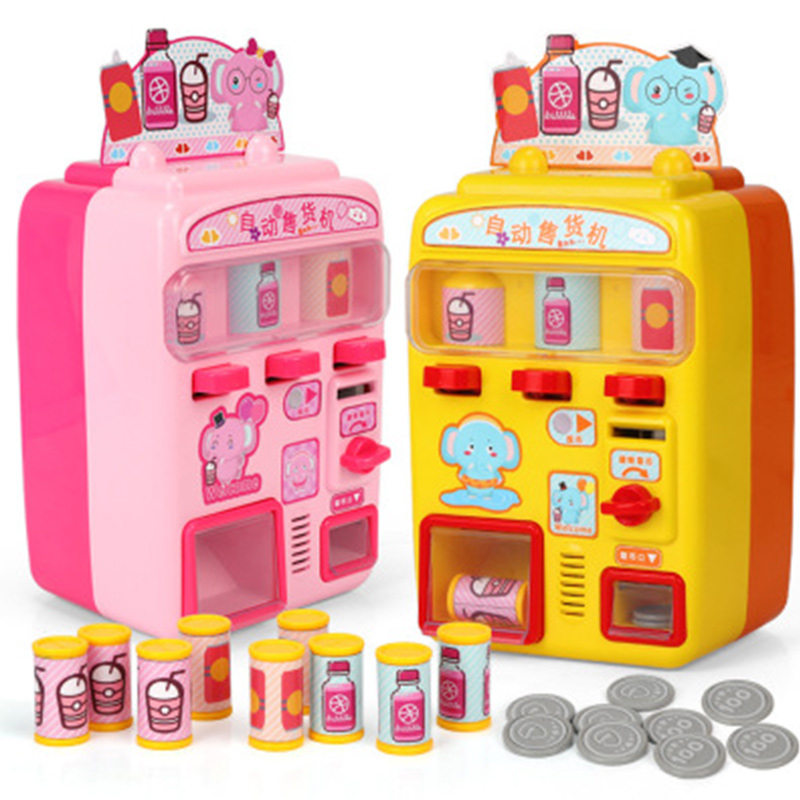 Children's Toy Vending Machine Simulation Shopping House Set 0-3 Years Old Baby Game Toys Give Children The Best House Gifts