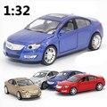 Diecast металл 1:32 сплава модели автомобиля, вытяните назад высокая моделирования Buick модель автомобиля, подарок Ребенку, бесплатная доставка