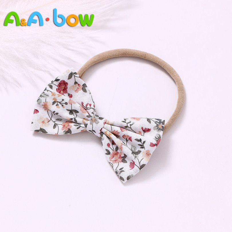 LX/_ Lovely Fruit Bunny Ears Elastic Hair Tie Rope Baby Girl Headwear Decor Wit