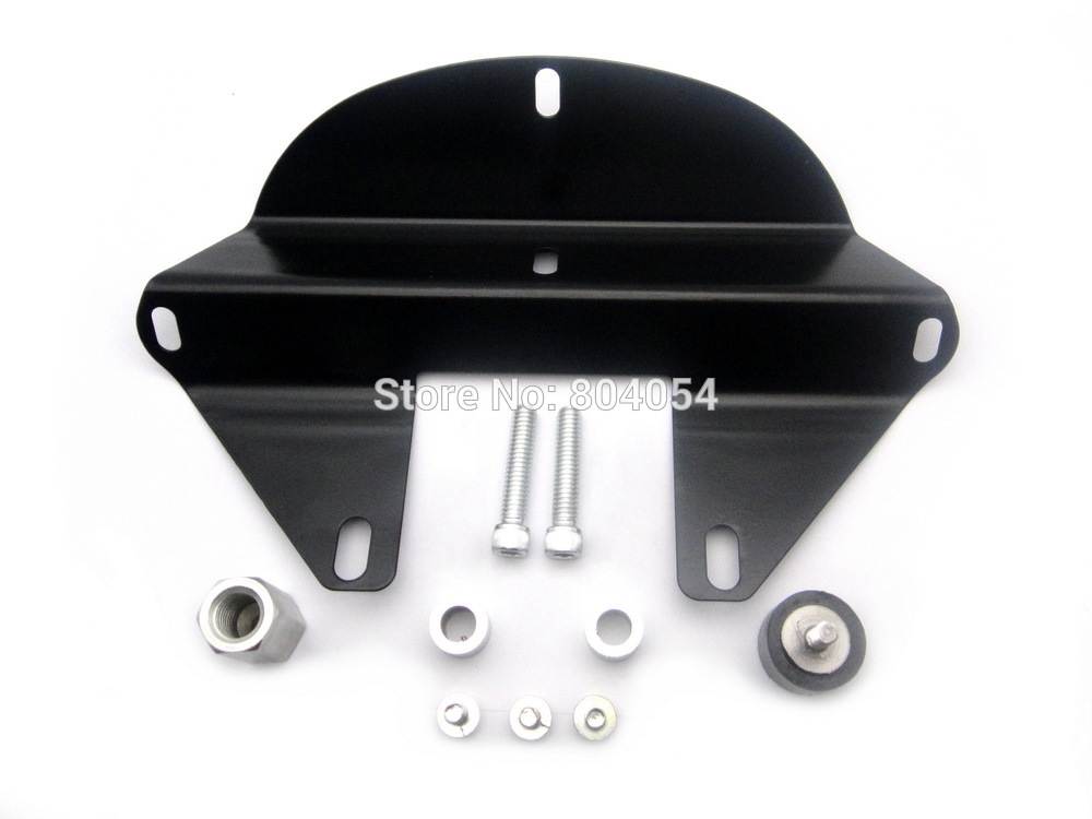 For Harley Sportster Dyna Front Headlight Fairing Mask with Hardware Black
