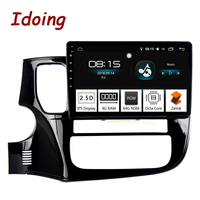 Idoing 10.24G+64G 8 Core Car Android 8.0 Radio Multimedia Player Fit Mitsubishi Outlander 2014 2017 2.5D IPS GPS Navigation PX5