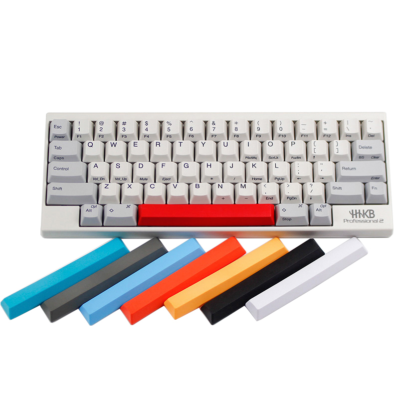 8b08138124f Free shipping new arrival Topre realforce hhkb capacitor keyboard keycaps  multicolour cap pbt material