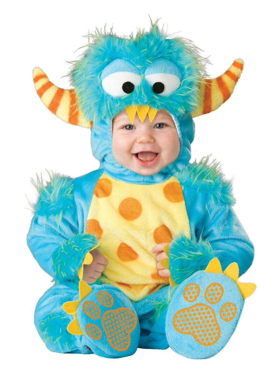 baby boy girls animal cosplay rompers toddler carnival halloween