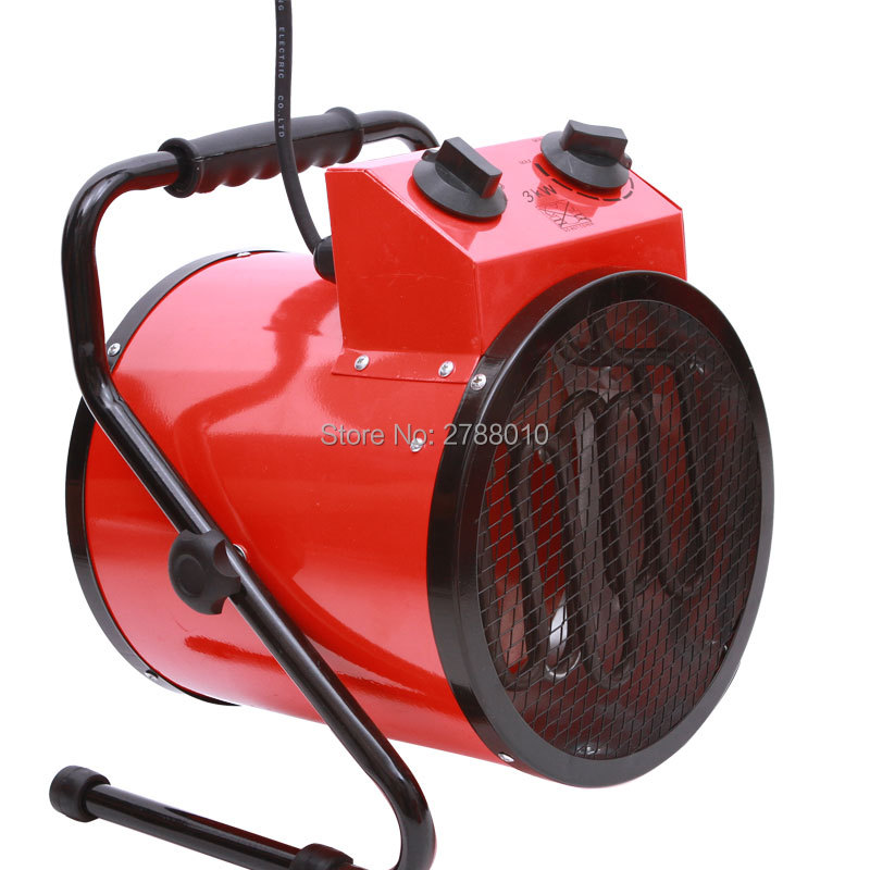 220V 3KW Air Blower Electric heaters household thermostat industrial Warm air blower Electric room heater BJAS-032 3000w electric heater high power air blower air heater for bathroom household industrial dryer hot air fans bgp 1403 03t
