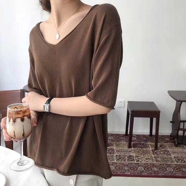 2019-summer-thin-knit-oversized-t-shirt-for-women-v-neck-big-top-girls-casual-t.jpg_640x640