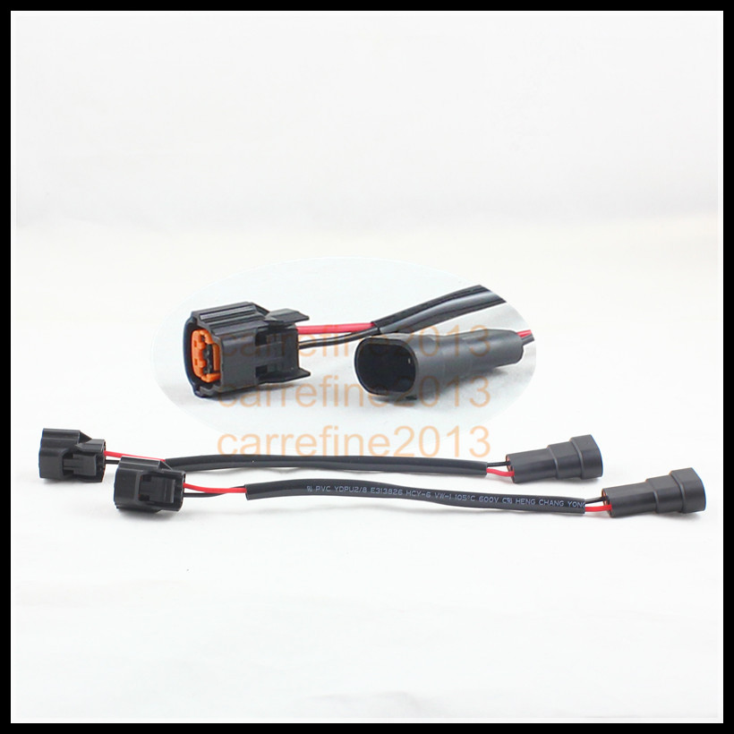 2pcs lot ballast power plug wiring harness adapter fit for Matsushita xenon HID ballast xenon HID aliexpress com buy 2pcs lot ballast power plug wiring harness Trailer Wiring Harness Adapter at soozxer.org