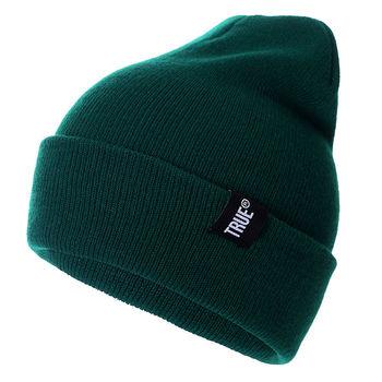 Letter True 10 Colors Casual Beanies for Men Women Fashion Knitted Winter Hat Solid Hip-hop Skullies Hat Bonnet Unisex Cap