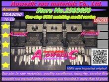 Aoweziic 100% amplificador de potencia de Audio, TDA2050V, TDA2050 TO 220, original, importado, nuevo