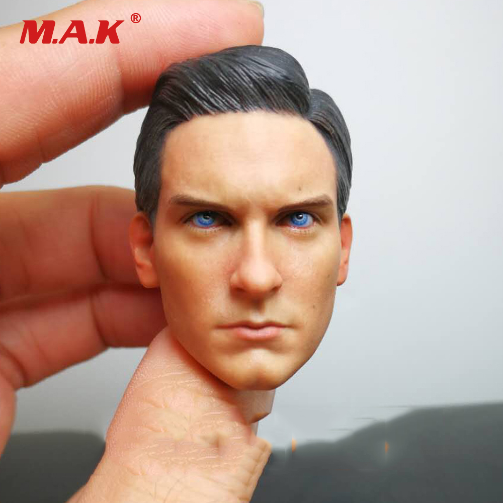 Collectible Spider-Man Peter Benjamin Parker Heroes Head Sculpt 1:6 Scale Head Carving for 12 Male Action FigureCollectible Spider-Man Peter Benjamin Parker Heroes Head Sculpt 1:6 Scale Head Carving for 12 Male Action Figure
