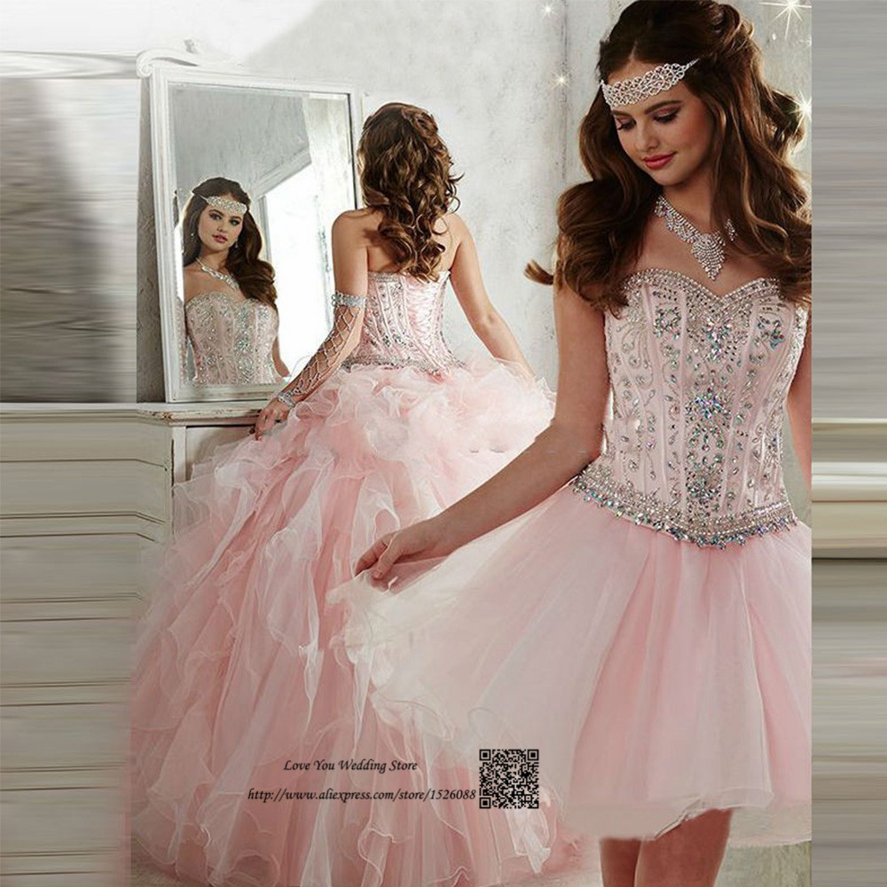 Buy cheap ball gown 2 piece quinceanera for Cheap 2 piece wedding dresses