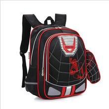 Cartoon Spiderman Orthopädische schultaschen Wasserdichte Kinder schule rucksack für kinder umhängetaschen mochilas escolares infantis