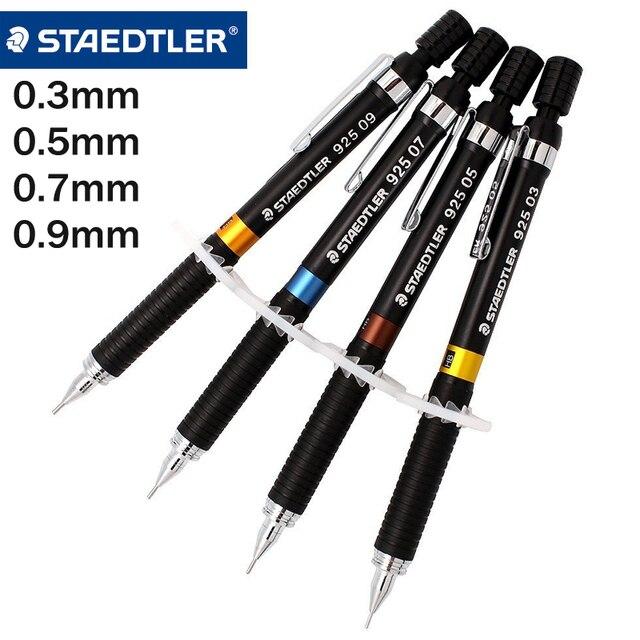 staedtler 0 3 0 5 0 7 0 9mm mechanical pencil 2b lead press
