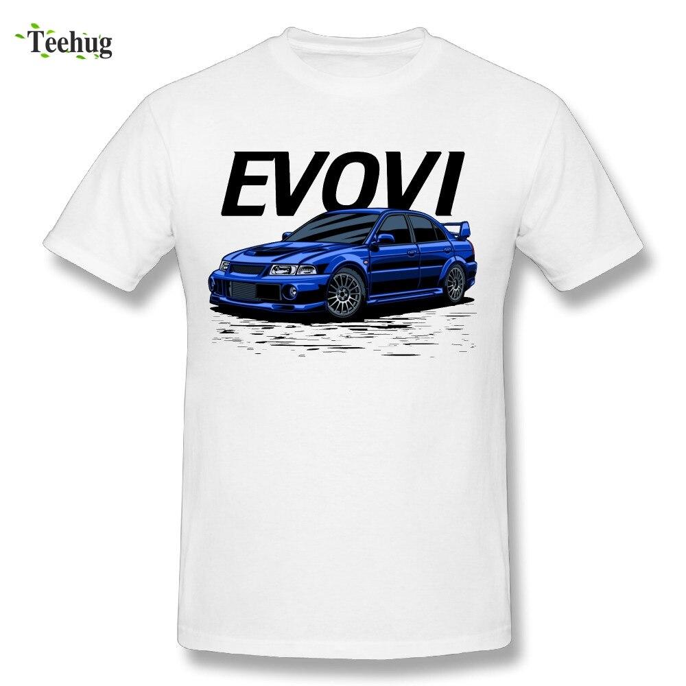 Été Nouveau RTM Voiture JDM T Shirt Homme Evo VI T-Shirt Grande coton Pour Homme Impressionnant Changement Graphoic 3D Homme T-shirt RTM Chemisette