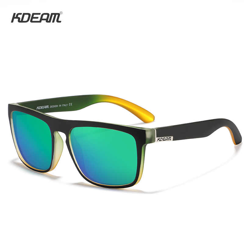 80faf81ce ... Fashion Guy's Sun Glasses From KDEAM Polarized Sunglasses Men Classic  Design All-Fit Mirror Sunglass ...
