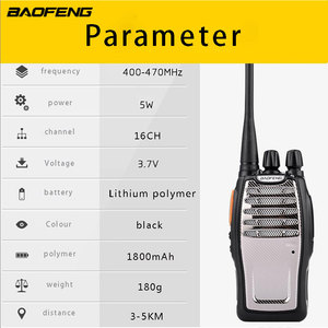 Image 5 - (2 PCS) BaoFeng UHF Walkie Talkie BF A5 16CH VOX + Scrambler Funktion Kostenloser Versand Two Way Radio