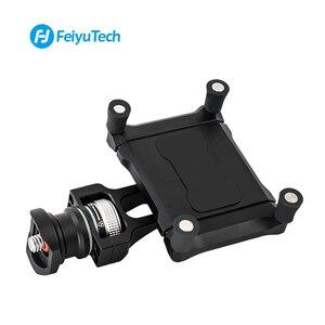 Image 2 - Feiyu Phone Holder Mount Adapter for SPG2 G6 G6 Plus Bracket Clip Clamp Holder for Action Camera Gimbal iPhone X 8 7 Samsung