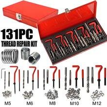 131 Pcs Blocco Motore Ristabilisce I Danneggiato Strumento di Riparazione Kit M5 M6 M8 M10 M12 Professionale SK1008