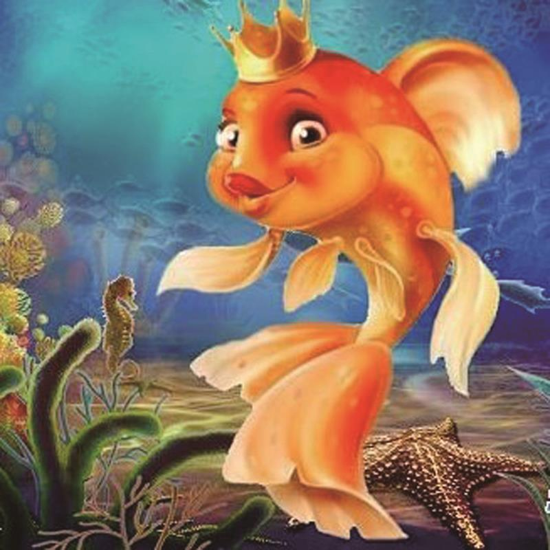 Картинка прикольная золотая рыбка