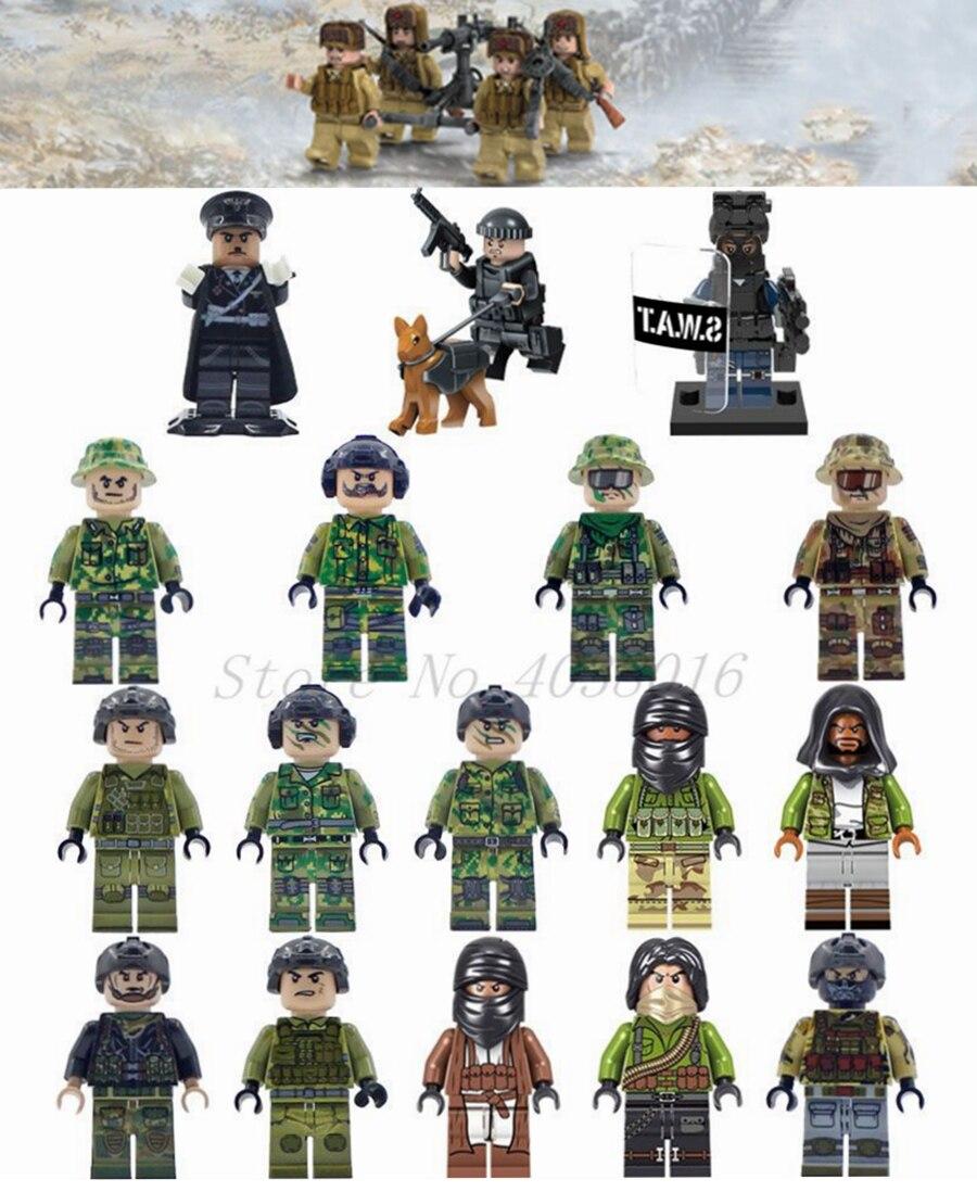 Blocks Official Website Legoing Military Super Heroes Imperial Bluecoat Army Soldier Figure Starwars Building Blocks Toys Figures Bricks Legoings Pg994