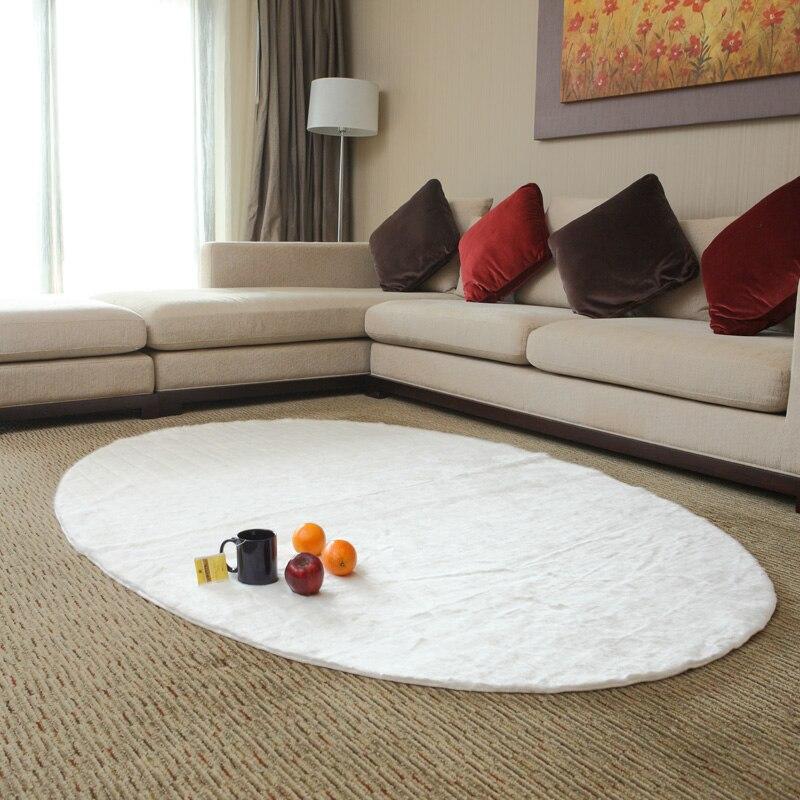 le visage piaochuang sets de table tapis ovale blanc dans. Black Bedroom Furniture Sets. Home Design Ideas