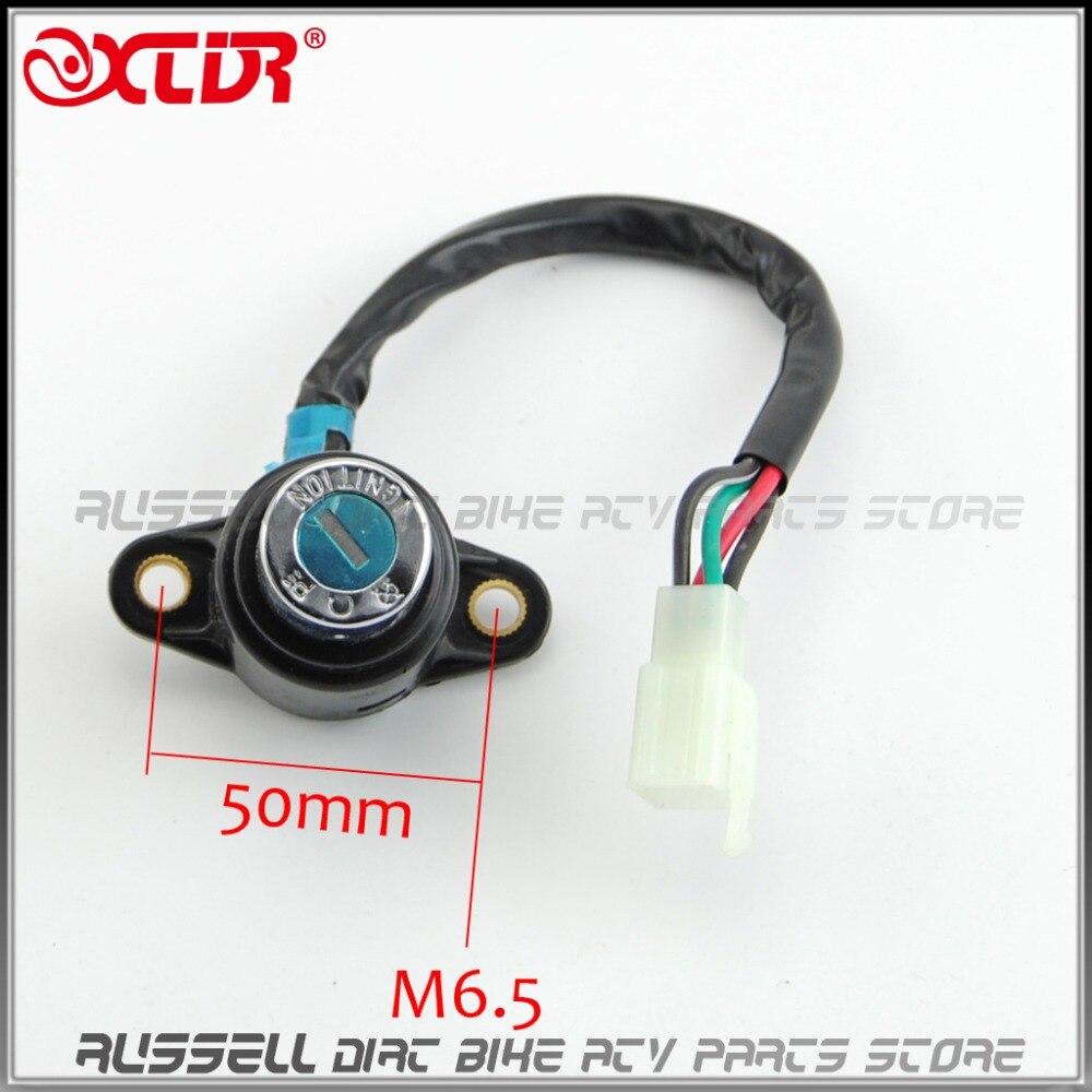 Buy 4 Wire Ignition Switch Fuel Tank Cap Lock Key Four Kits For Honda Monkey Bike Z 50 Z50 Motorbike From Reliable Suppliers