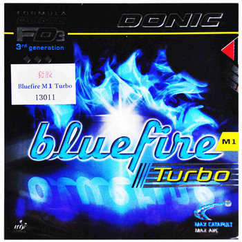 DONIC Table Tennis Rubber Bluefire Turbo M1 pimples in with sponge ping pong tenis de mesa