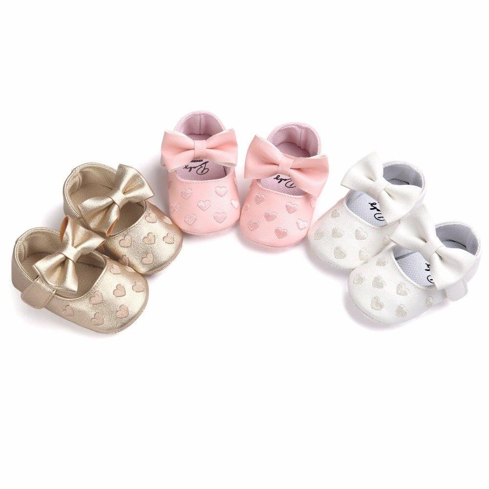 Nowe Baby Girl Shoes Buciki Lovely Princess antypoślizgowe Niemowlę - Buty dziecięce - Zdjęcie 4