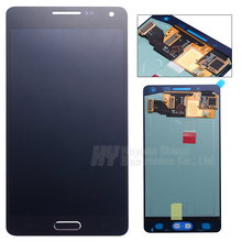 100% Original LCD lcd display touch screen digitize with home button adhesive For Samsung galaxy A5  A500f A500H  freeshipping