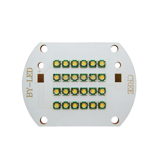 24Leds 28LEDS 80LEDS 100LEDS 120LEDS Cree XP-E XPE Warm White 3000K Led Emitter Lamp Light On Copper PCB Board