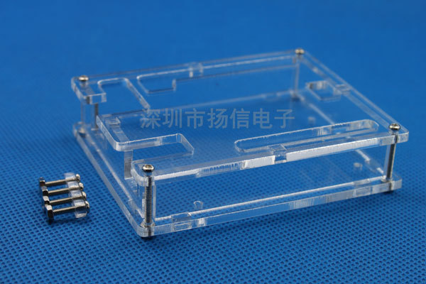 Free shipping! 10pcs/lot Transparent Box Case Shell for Arduino UNO R3 not Raspberry pi model b plus Good Quality Low Price