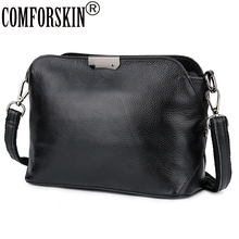 Comforskin Koeienhuid Europese Amerikaanse Vrouwelijke Messenger Tassen Merk Designer Enkele Riem Vrouwen Grote Capaciteit Cross Body Bags