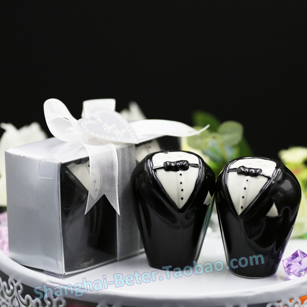 Free Shipping 100pair Wedding Party Souvenir Ideas Salt And Pepper Shaker Set Hh001 Supplies In Favors From Home Garden On Aliexpress