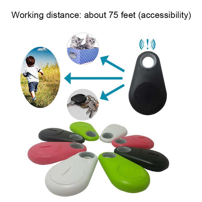 Умный мини gps трекер анти-потеря Водонепроницаемый Bluetooth Tracer для домашних собак кошка ключи кошелек сумка Детские трекеры Finder оборудование