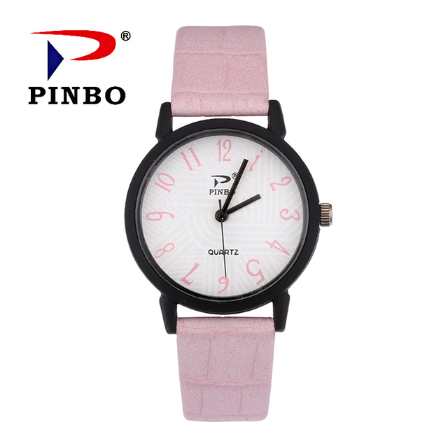 2018 Fashion Women Bracelet Watch Famous Brand Ladies PU Leather Analog Quartz Wrist Watch Clock Women Relojes Mujer