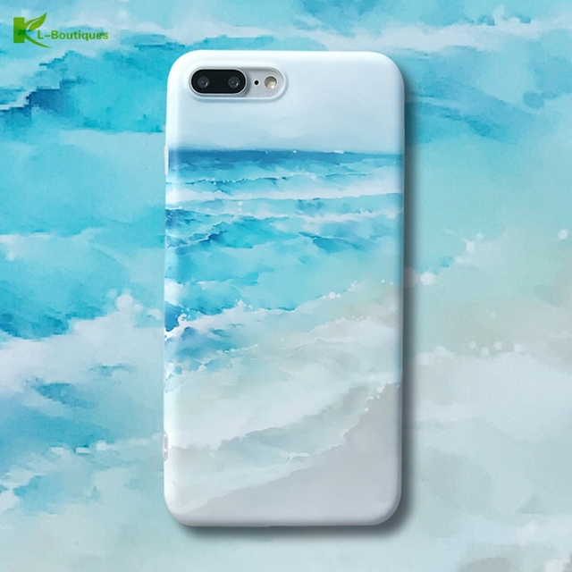 coque iphone 7 plus mer