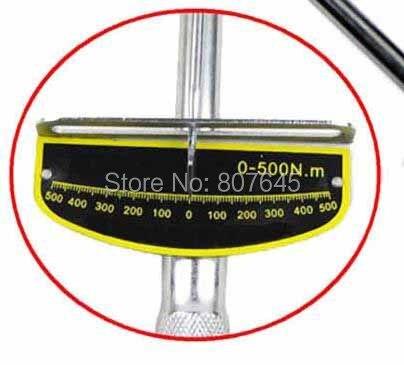 Купить 0-500N.m 19 мм гаечный ключ гаечный ключ комплект напряжение ключ автомобиля ремкомплект дешево