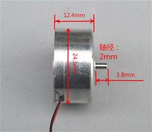 Image 3 - 100 PZ/LOTTO 300 Piccolo Motore Miniatura Motore A Magnete Permanente motore Piccolo Motore 5 V DC Solare (6.8)