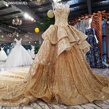 LS4780 # robe de fiesta dentelle sans manches o-cou dos nu dentelle applique balayage train robe de soirée achats en ligne réel photo