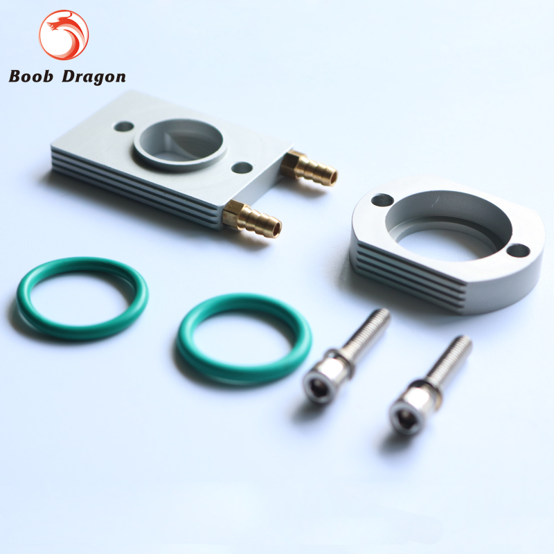 Aluminum Water Cool Flange fits 26-29CC QJ Zenoah RCMK CY Gas Engine for RC Boat baja rc reed valve system for cy zenoah engine