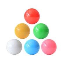цена на Replaceable Crystal Bubble ball top Arcade Joystick 5*3cm American style stick transparent oval ball top for sanwa joystick